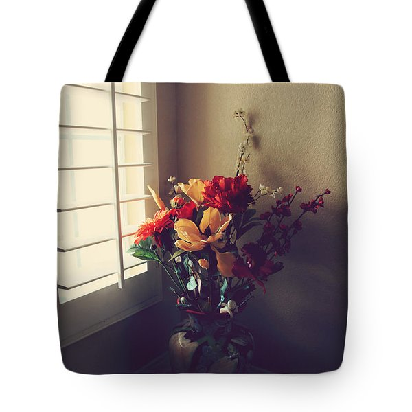 Shutters Tote Bag by Laurie Search