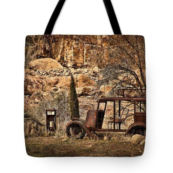 Shuttle Transport Tote Bag by Priscilla Burgers