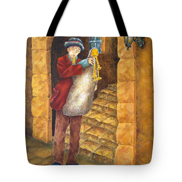 Sicilian Ciaramella Tote Bag by Pamela Allegretto