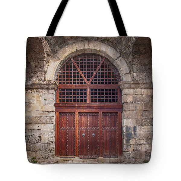 Side Amphitheatre 04 Tote Bag by Antony McAulay