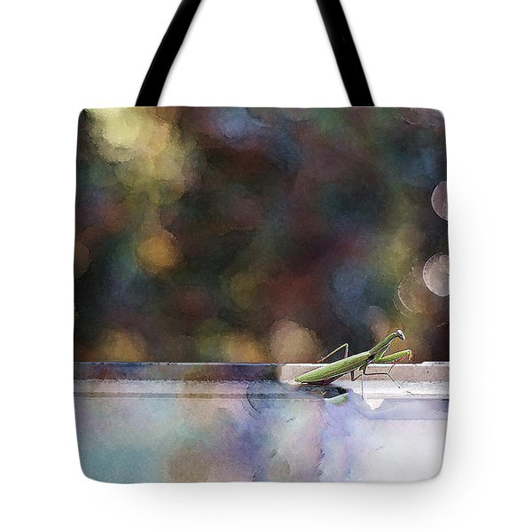 Signs Tote Bag by Kathy Bassett