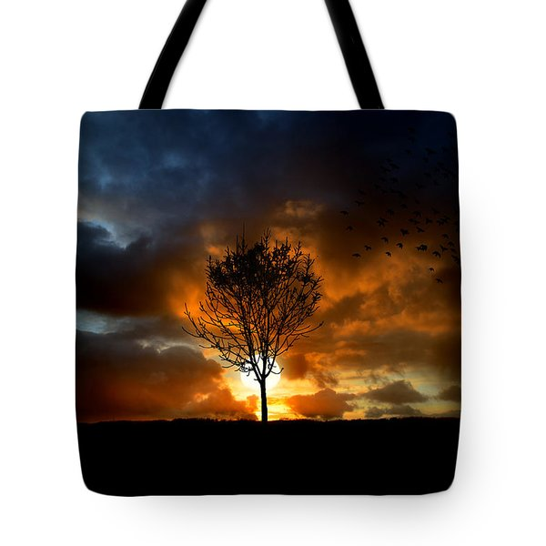 Silence Tote Bag by Lj Lambert