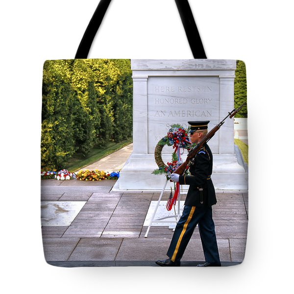 Silence Sings Tote Bag by Mitch Cat