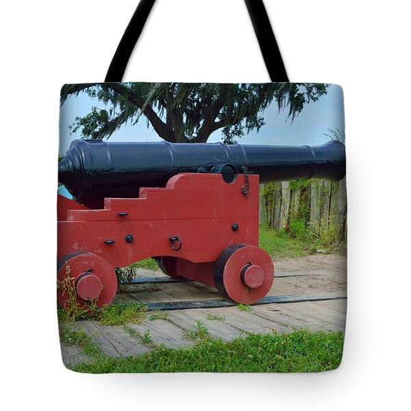 Silent Cannon Tote Bag by Alys Caviness-Gober