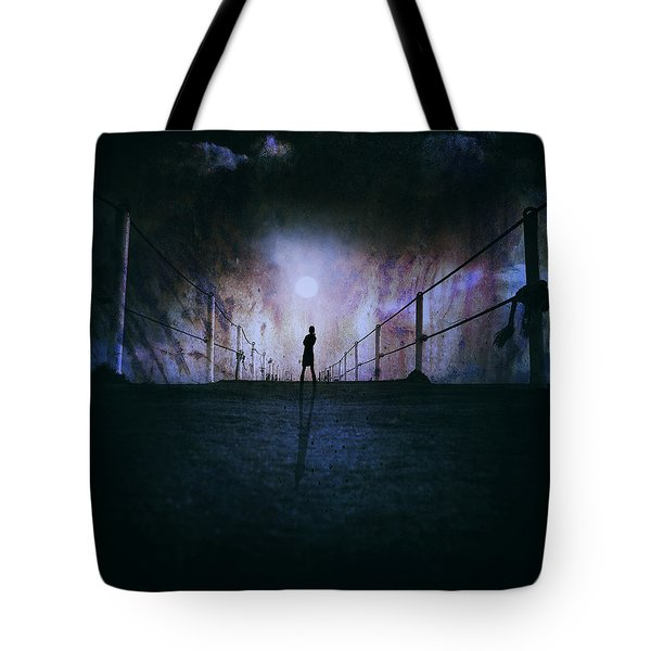 Silent Scream Tote Bag by Stylianos Kleanthous