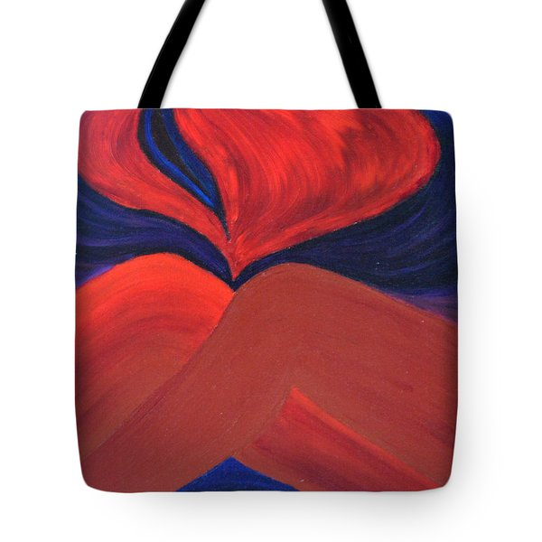 Silent She Emerges Tote Bag by Daina White
