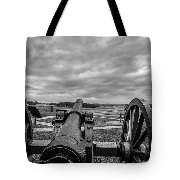 Silent Vigil at Gettysburg Tote Bag by Mountain Dreams