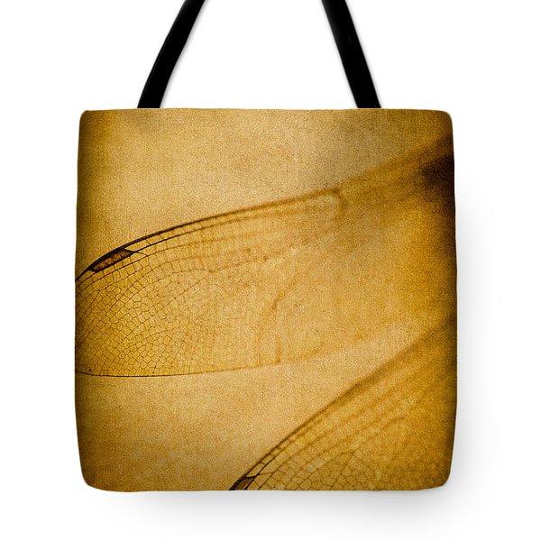 Silent Wings Tote Bag by Jan Bickerton