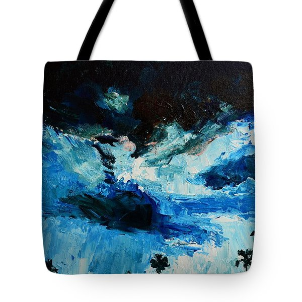 Silhouette of Nature II Tote Bag by Patricia Awapara