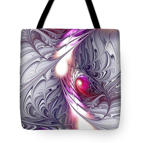 Silk Tote Bag by Anastasiya Malakhova