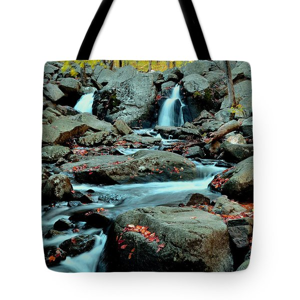 Silky Water 3 Tote Bag by Allen Beatty