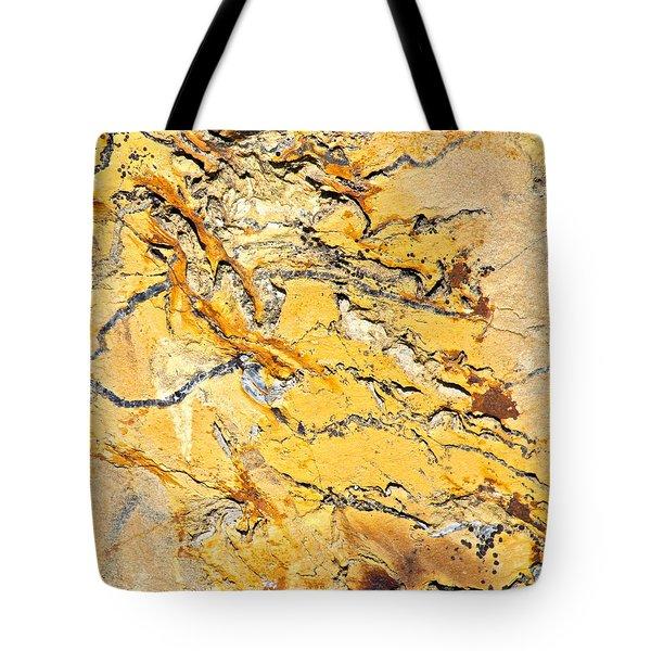 Siltstone Abstract Tote Bag by Karon Melillo DeVega