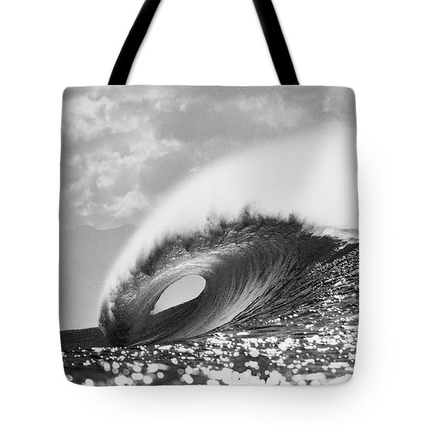 Silver Peak Tote Bag by Sean Davey