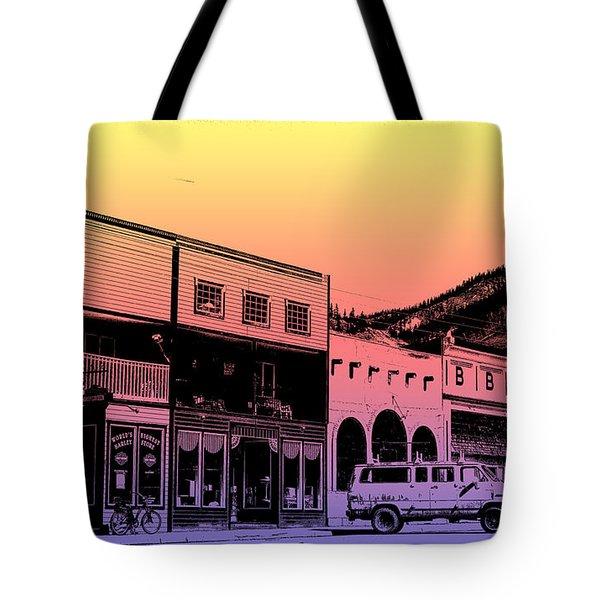 Silverton Colorado Tote Bag by Janice Rae Pariza