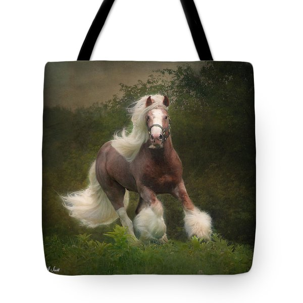 Simon And The Storm Tote Bag by Fran J Scott