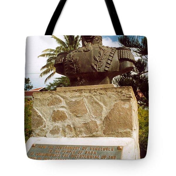 Simon Bolivar (1783-1830) Tote Bag by Granger