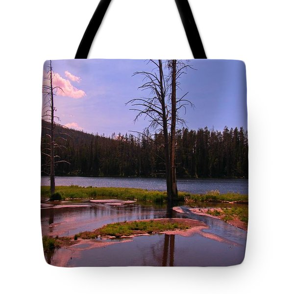 Simple Beauty of Yellowstone Tote Bag by John Malone