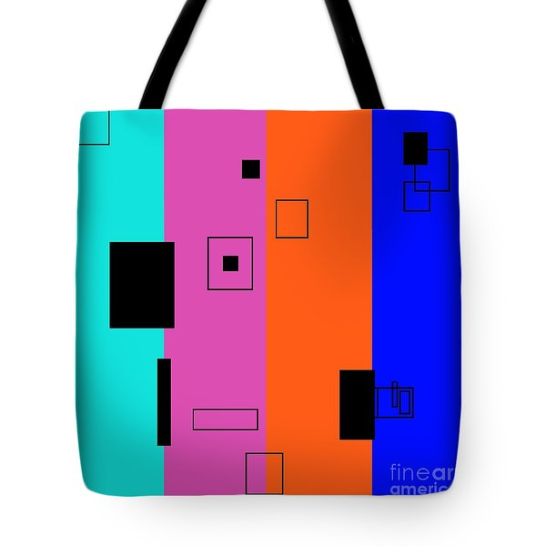 Simple Color 2 Tote Bag by Eloise Schneider