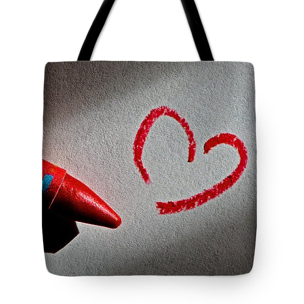 Simple Love Tote Bag by Bill Owen