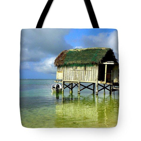 Simple Solitude Tote Bag by Karen Wiles
