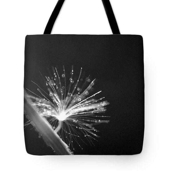 Simpliest Beauty - Bw Tote Bag by Aimelle
