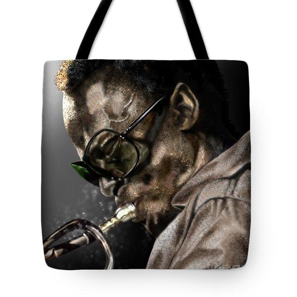 Simply Miles Tote Bag by Reggie Duffie