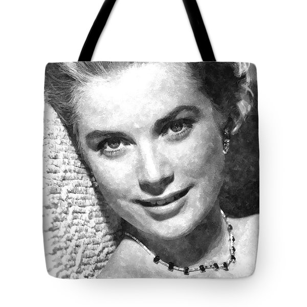 Simply Stunning Grace Kelly Tote Bag by Florian Rodarte