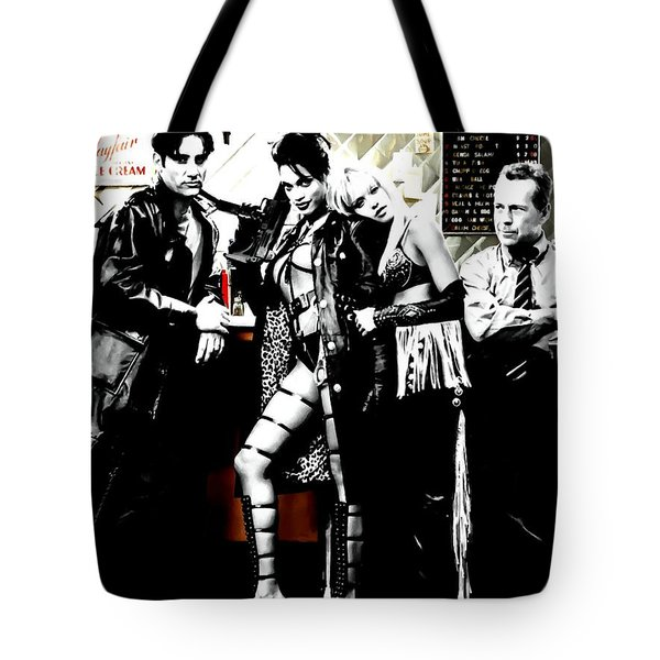 Sin City Starring Tote Bag by Gabriel T Toro