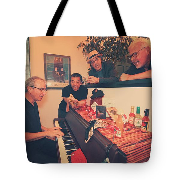 Sing Along Tote Bag by Laurie Search
