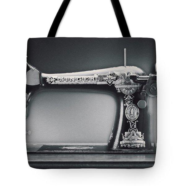 Singer Machine Tote Bag by Kelley King