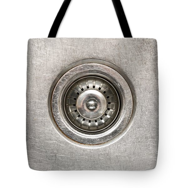 Sink Plug Tote Bag by Tim Hester