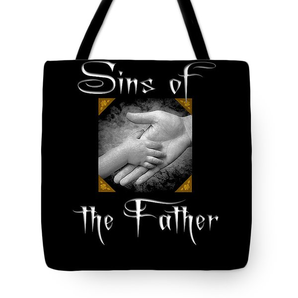Sins of the Father book cover Tote Bag by Mike Nellums