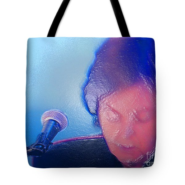 Sir Paul W Rapped Tote Bag by Tina M Wenger