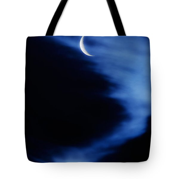 Sister Of The Moon Tote Bag by Bill  Wakeley