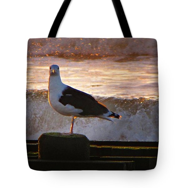 Sittin On The Dock Of The Bay Tote Bag by David Dehner
