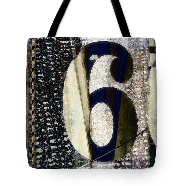 Six On The Line Tote Bag by Carol Leigh