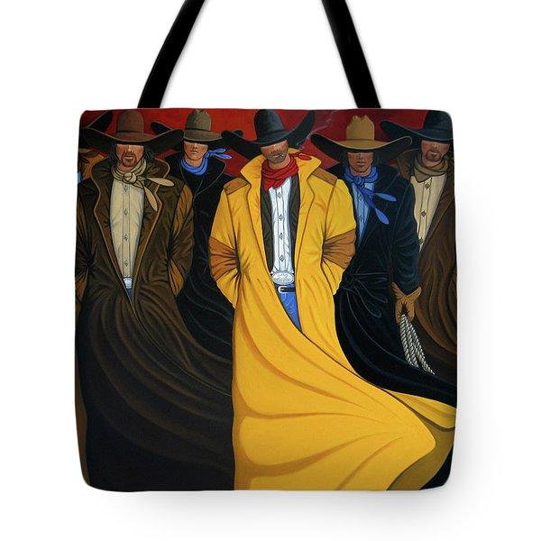 Six Pac Tote Bag by Lance Headlee
