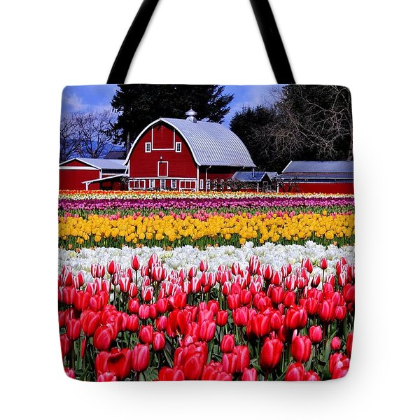 Skagit Valley Tote Bag by Benjamin Yeager