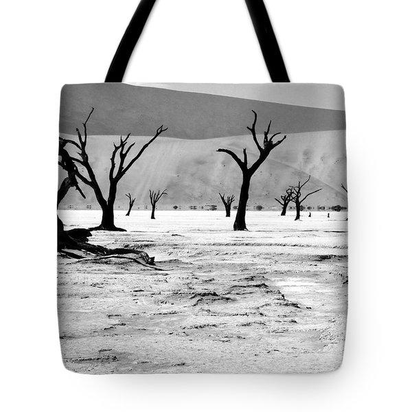 Skeleton Forest Tote Bag by Aidan Moran