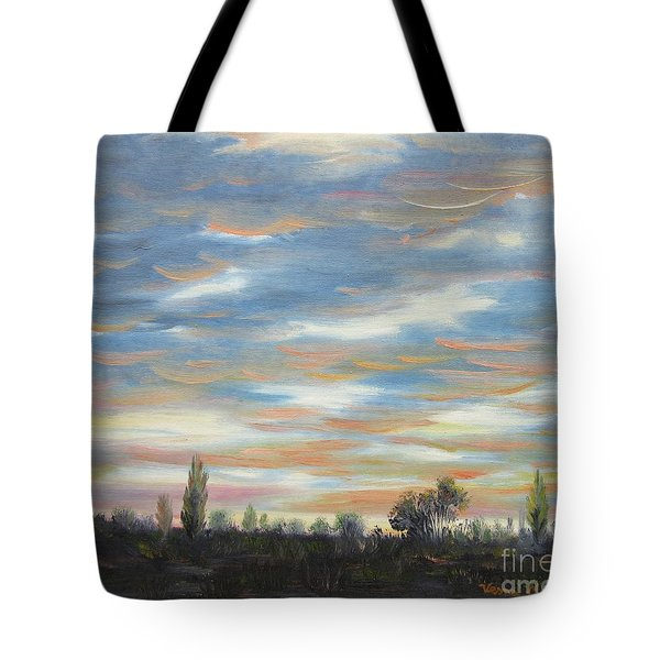 Sky Tote Bag by Vesna Martinjak