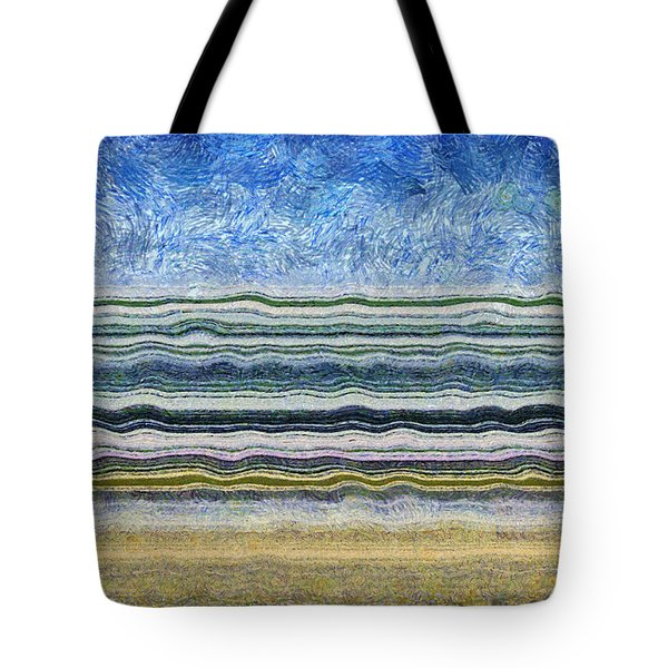 Sky Water Earth 2 Tote Bag by Michelle Calkins