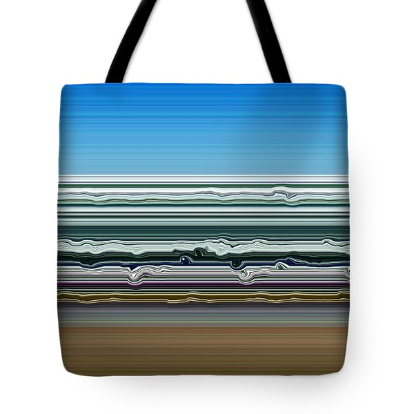Sky Water Earth Tote Bag by Michelle Calkins
