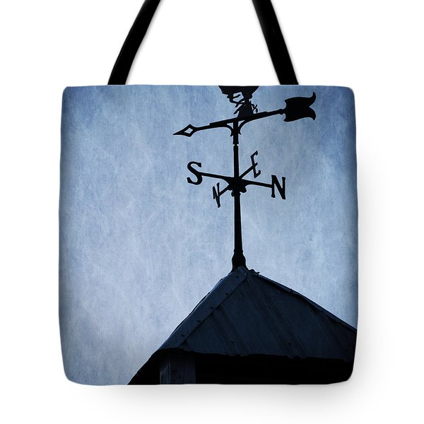 Skyfall Deer Weathervane  Tote Bag by Edward Fielding