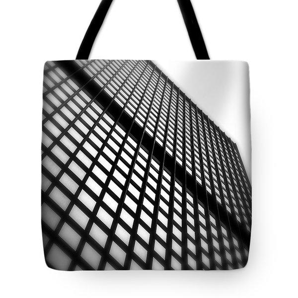 Skyscraper Facade Tote Bag by Valentino Visentini