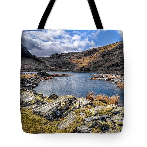 Slate Valley Tote Bag by Adrian Evans