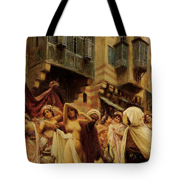 Slave Auction Tote Bag by Fabbio Fabbi