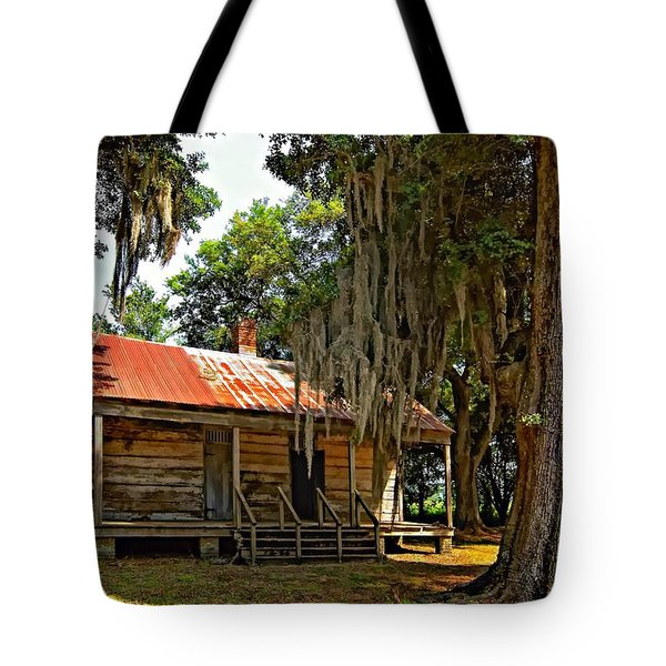 Slave Quarters Tote Bag by Steve Harrington