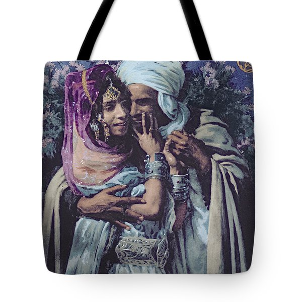 Slave To Love Tote Bag by Alphonse Etienne Dinet