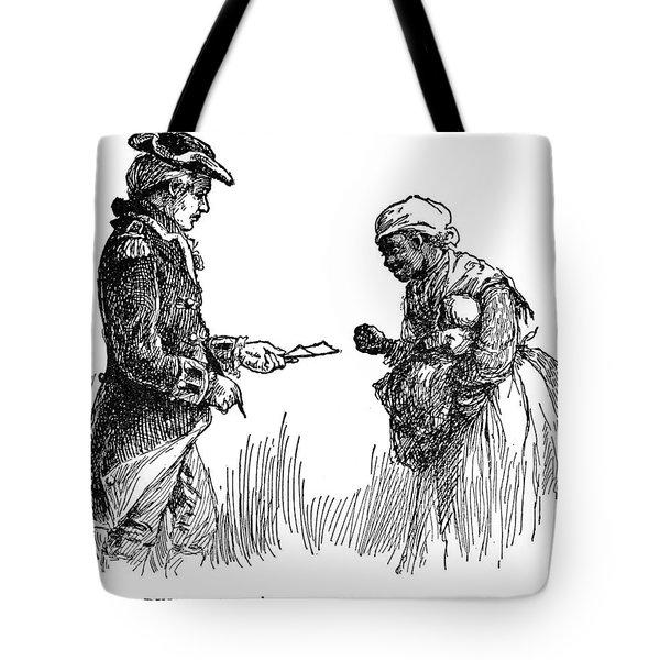 Slavery: Manumission, 1777 Tote Bag by Granger