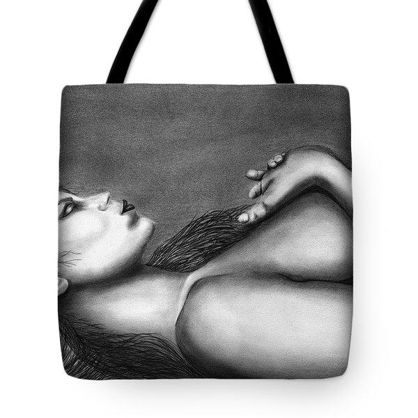Sleeping Beauty  Tote Bag by Peter Piatt